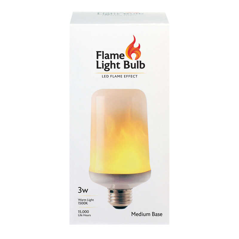 FEIT Electric  3 watts S6  LED Bulb  80 lumens Warm Candle Light  Decorative  30 Watt Equivalence