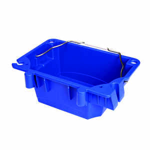 Werner  Plastic Polymer  Blue  Utility Bucket Attachment  1 each