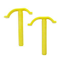 Centipede  Quick Clamps  Yellow  2 pk