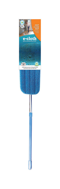 E-Cloth  Deep Clean  5 in. W Wet  Mop Kit