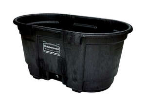 Rubbermaid Commercial  100 gal. Stock Tank  52-7/16 in. D For Livestock