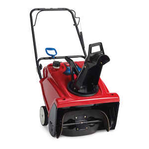 Toro  PowerClear 721  21 in. W 212 cc Single-Stage  Manual Start  Gas  Snow Blower