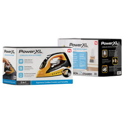 PowerXL Cordless Iron/Steamer
