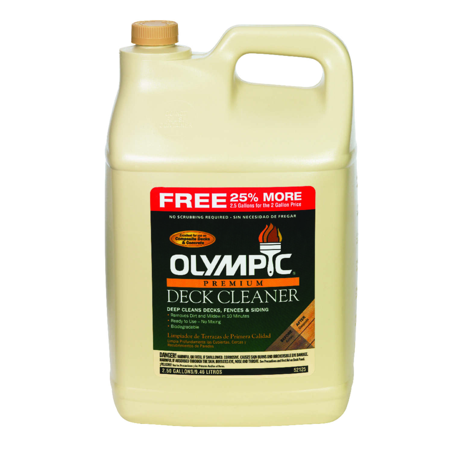 Olympic 2.5 gal. Deck Cleaner - Ace Hardware