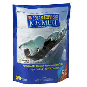 Polar Express  Blended  Ice Melt  20 lb. Granule and Flake