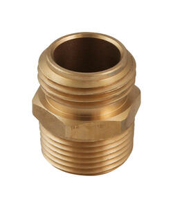 Plumb Pak  Brass  Hose Adapter  3/4 in. 3/4 x 1/2 in. Dia.