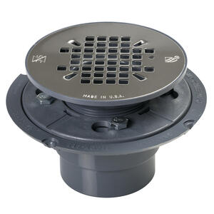 Sioux Chief  2 in. Dia. PVC  Shower Pan Drain