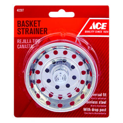 Ace  Chrome  Replacement Strainer Basket