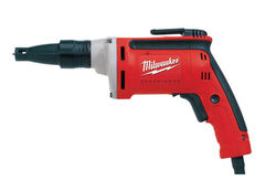 Milwaukee  1/4  Corded  Keyed  Drywall Screwdriver  6.5 amps 4000 rpm