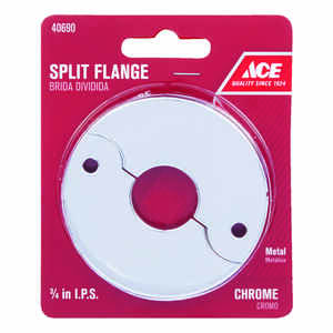 Ace  3/4 in. Steel  Split Flange