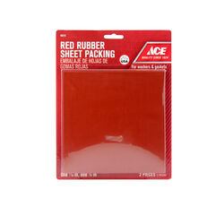 Ace  6 in. L Rubber  Rubber Sheet Packing