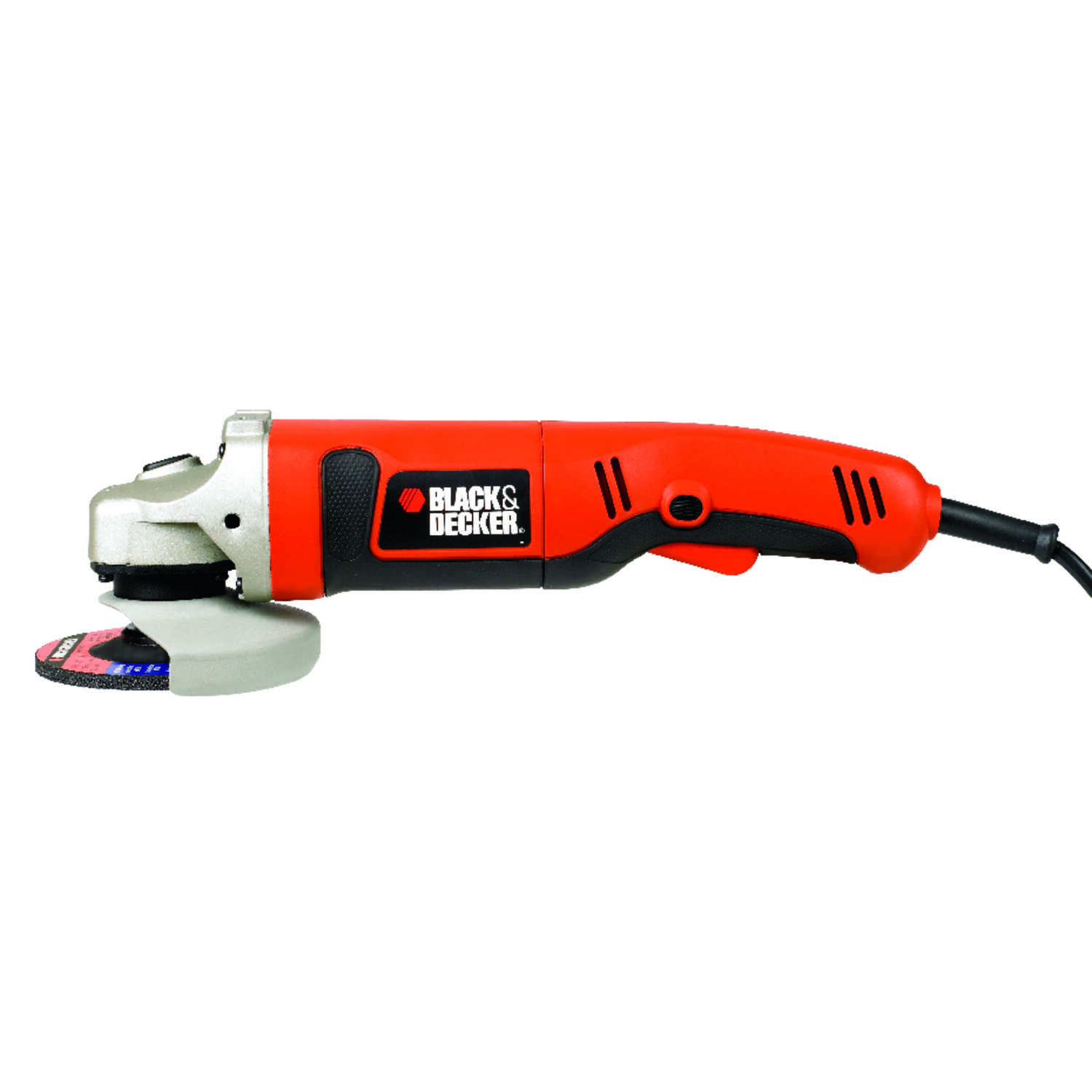 Black and Decker  Corded  8.5 amps 4-1/2 in. Small Angle Grinder  Bare Tool  Slide  10000 rpm