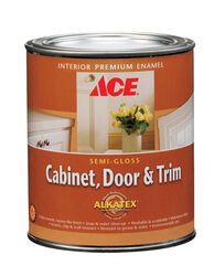 Ace  Semi-Gloss  Tintable Base  Neutral Base  Alkyd-Latex Hybrid  Cabinet and Trim Paint  Indoor  1