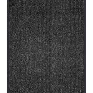 Multy Home  Platinum  Nonslip 36 in. W x 35 ft. L Charcoal  Carpet Runner