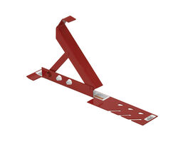 Qual-Craft  Steel  Red  Roof Bracket  1