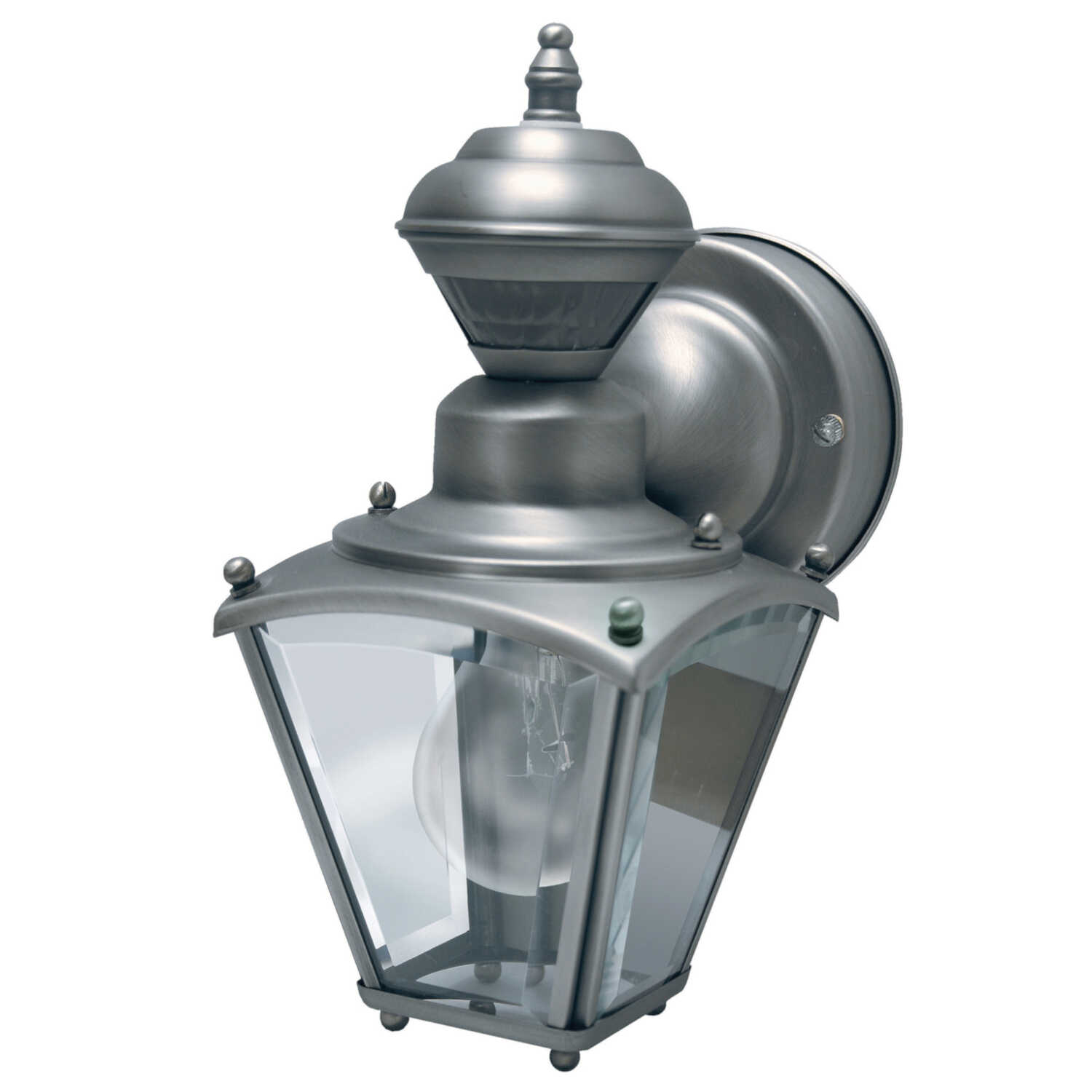 Heath Zenith  Wall Lantern  Pewter  Motion-Sensing
