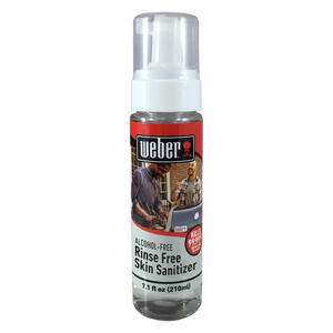 Weber  No Scent Hand Sanitizer  7.1 oz.