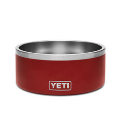 YETI  Boomer  Brick Red  Stainless Steel  8 cup Pet Bowl  For Dogs