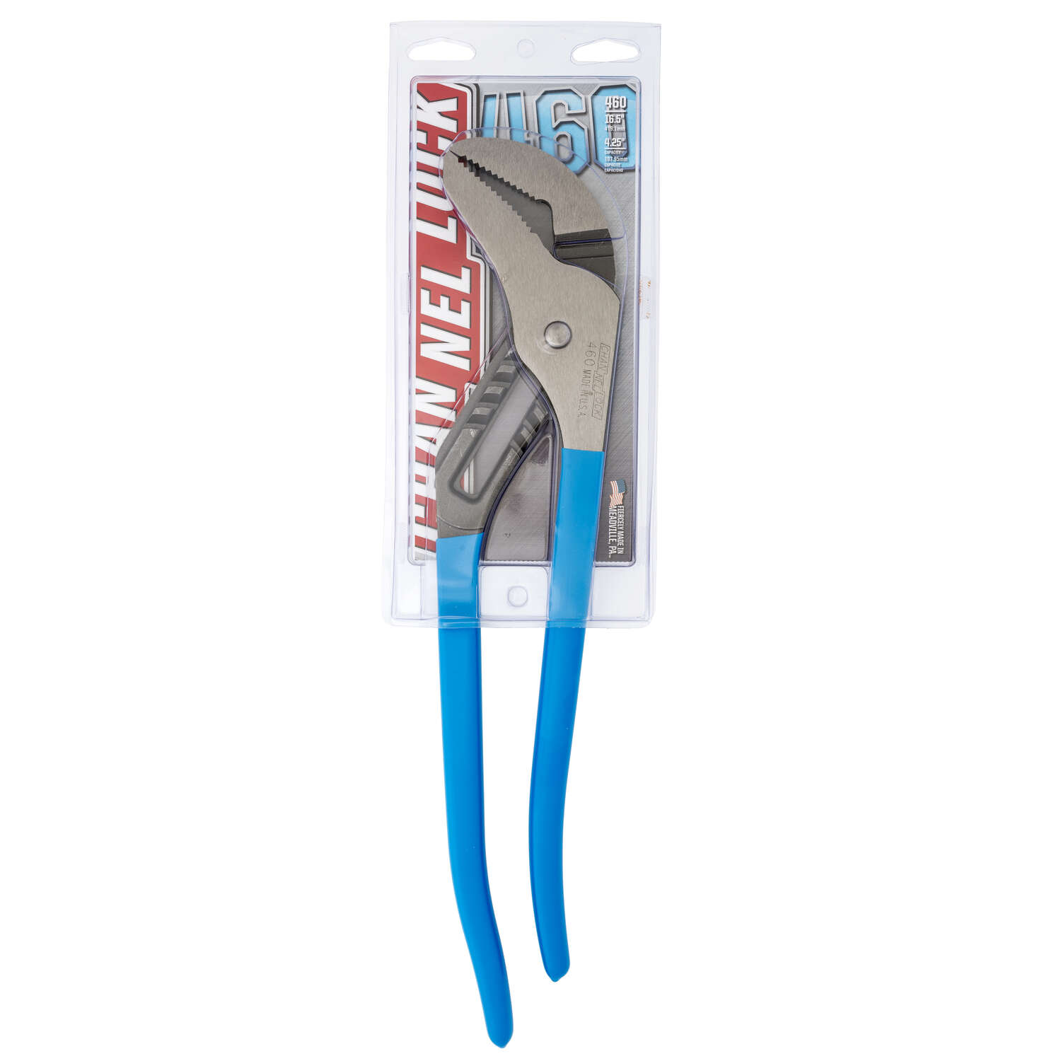 Channellock  16 in. Carbon Steel  Tongue and Groove Pliers  1