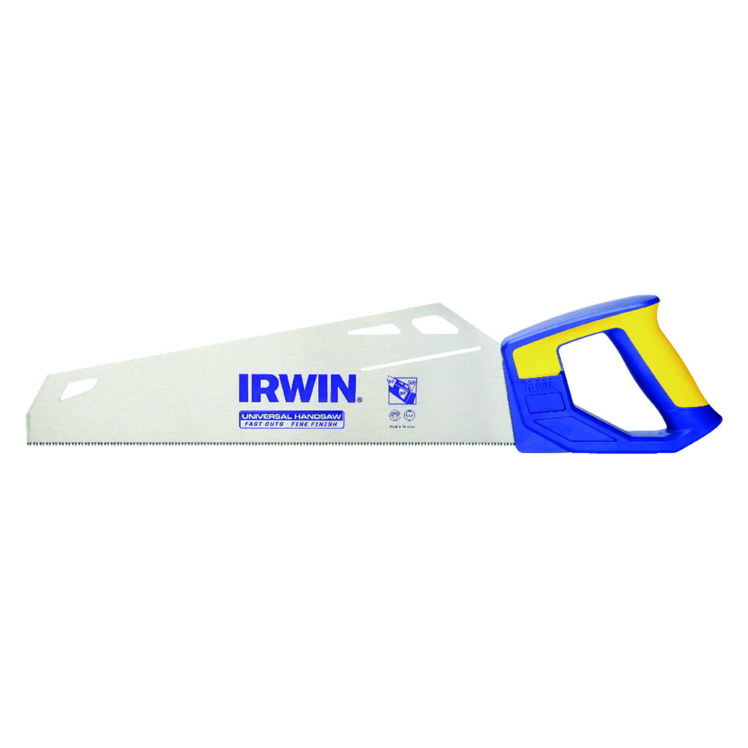 Irwin  15 in. High Carbon Steel  Multi-Use Saw  11 TPI 1 pc.