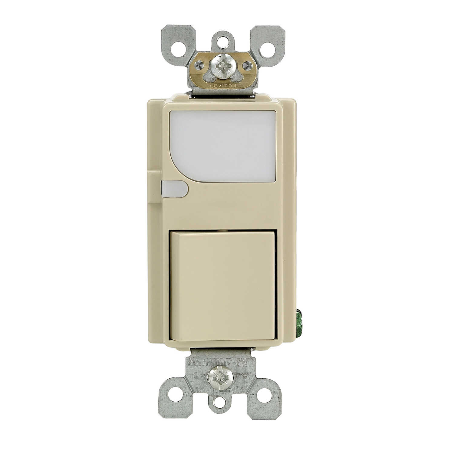Leviton  15 amps Decora  Ivory  1 pk Switch  Toggle