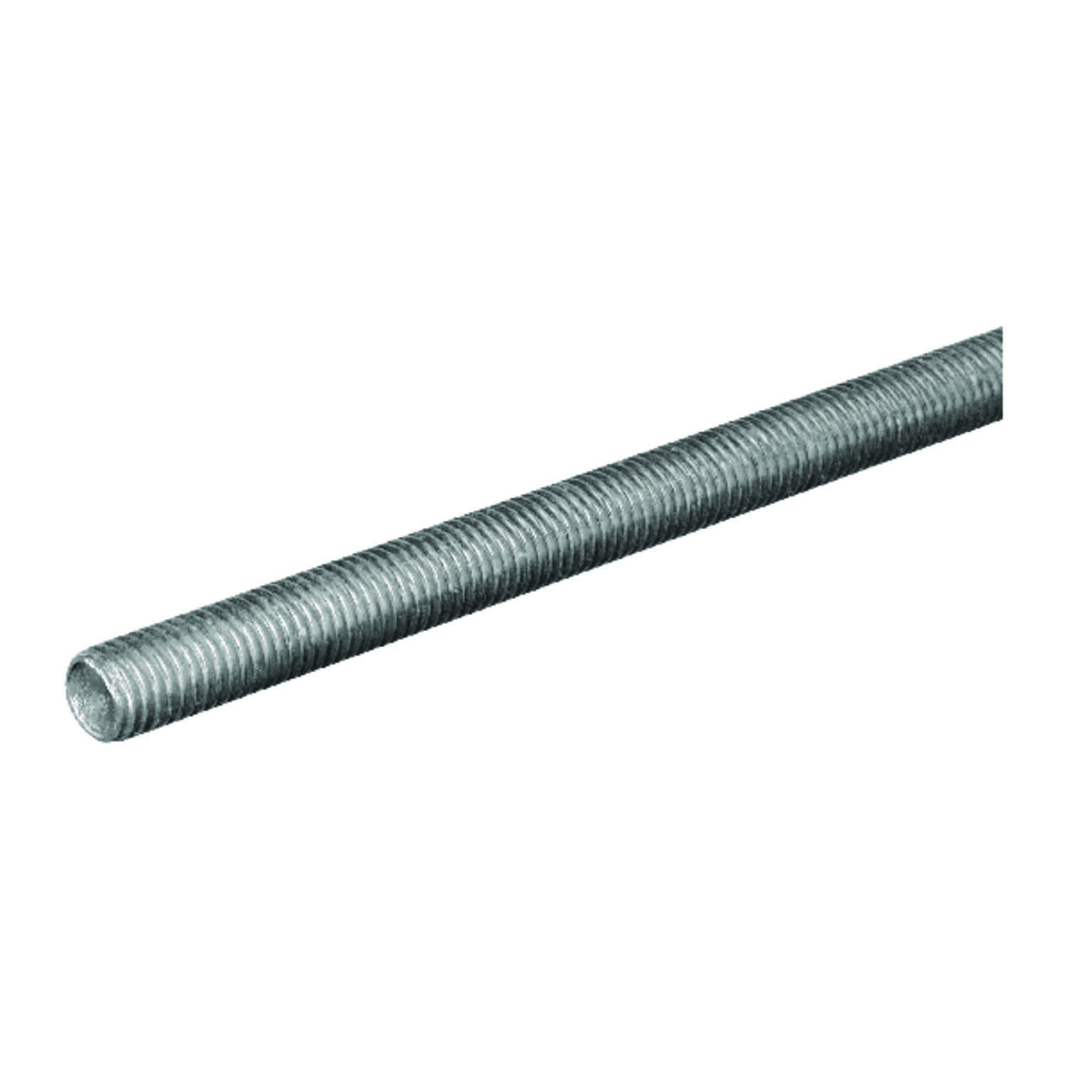 Boltmaster  3/8-16 in. Dia. x 36 in. L Steel  Threaded Rod