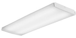 Lithonia Lighting  LB  2.75 in. H x 15.5 in. W x 48 in. L White  LED Ceiling Light