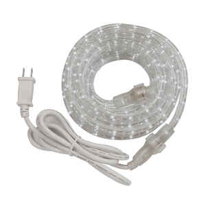 Amertac  Decorative  Clear  Rope Light  24 ft.