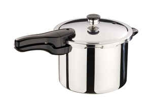 Presto  Polished Stainless Steel  Pressure Cooker  6 qt.