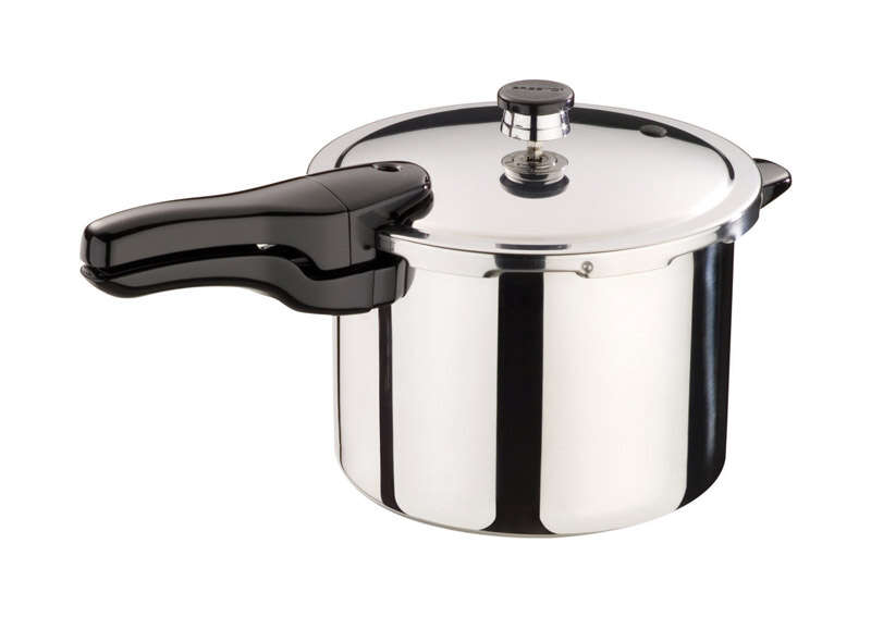 Presto  Polished Stainless Steel  Pressure Cooker  6