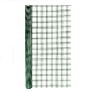 Garden Zone  36 in. W x 5 ft. L Green  Steel  Hardware Cloth  1/2 in.