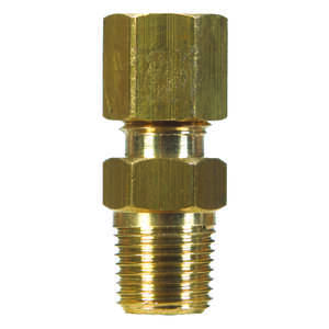 JMF  7/8 in. Dia. x 3/4 in. Dia. Brass  Compression Fitting