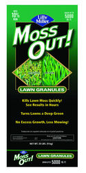 Lilly Miller  Moss Out  Moss Control  Granules  20 lb.