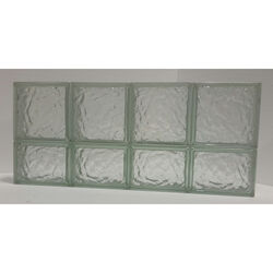 Clear Choice  14 in. H x 32 in. W x 3 in. D Ice  Panel