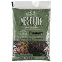Traeger  All Natural Mesquite  Hardwood Pellets  20 lb.