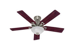Hunter Fan  Astoria  52 in. 5 blade Indoor  Brushed Nickel  Ceiling Fan