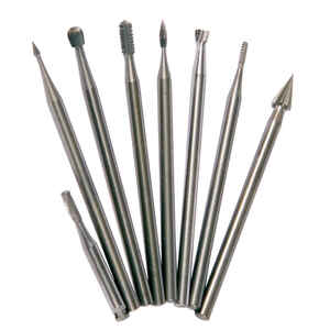 Forney  Assorted  Mini  Burr Set  Steel  8 pc.
