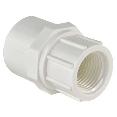 Charlotte Pipe Schedule 40 3/4 in. Slip x 1/2 in. Dia. FPT PVC Pipe Adapter
