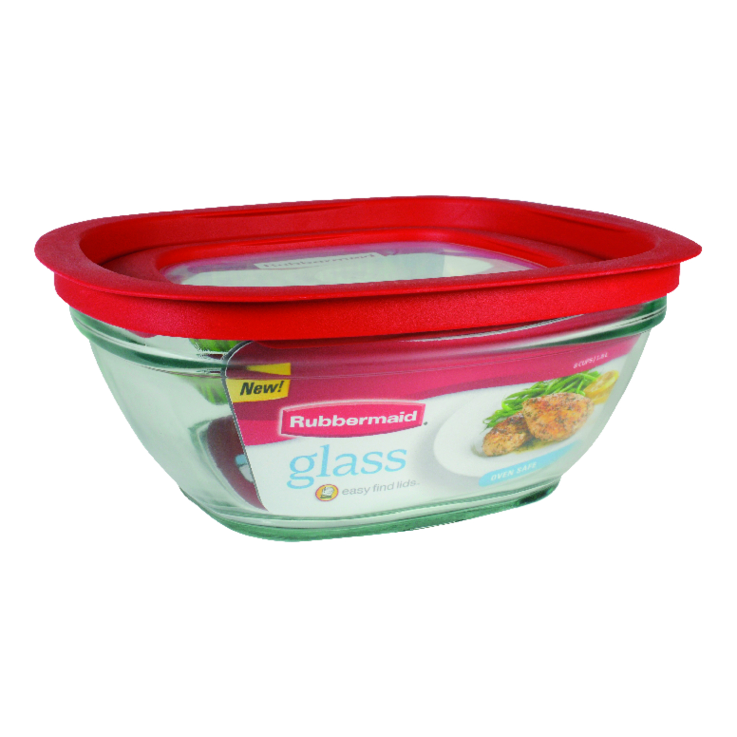 Rubbermaid  Food Storage Container  8 cups