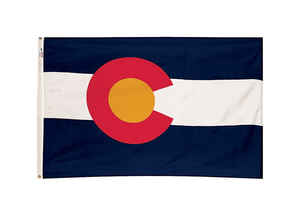 Valley Forge  Colorado  Flag  36 in. H x 60 in. W
