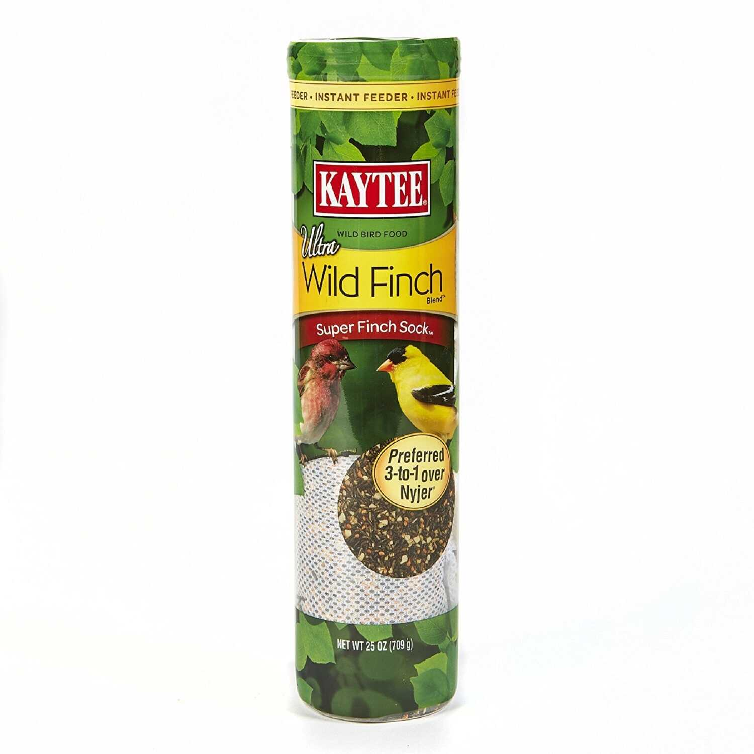 Kaytee  Ultra  Finch  25 oz. Mesh  Bird Feeder