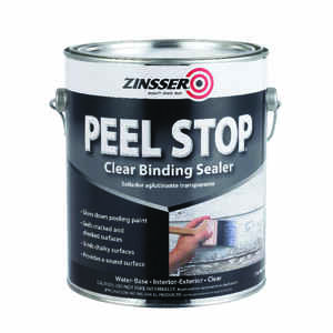 Zinsser  Peel Stop  Clear  Water-Based  Bonding Primer  1 gal.