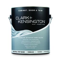 Clark+Kensington  Semi-Gloss  Tint Base  Neutral Base  Premium Cabinet, Door & Trim Paint  Interior