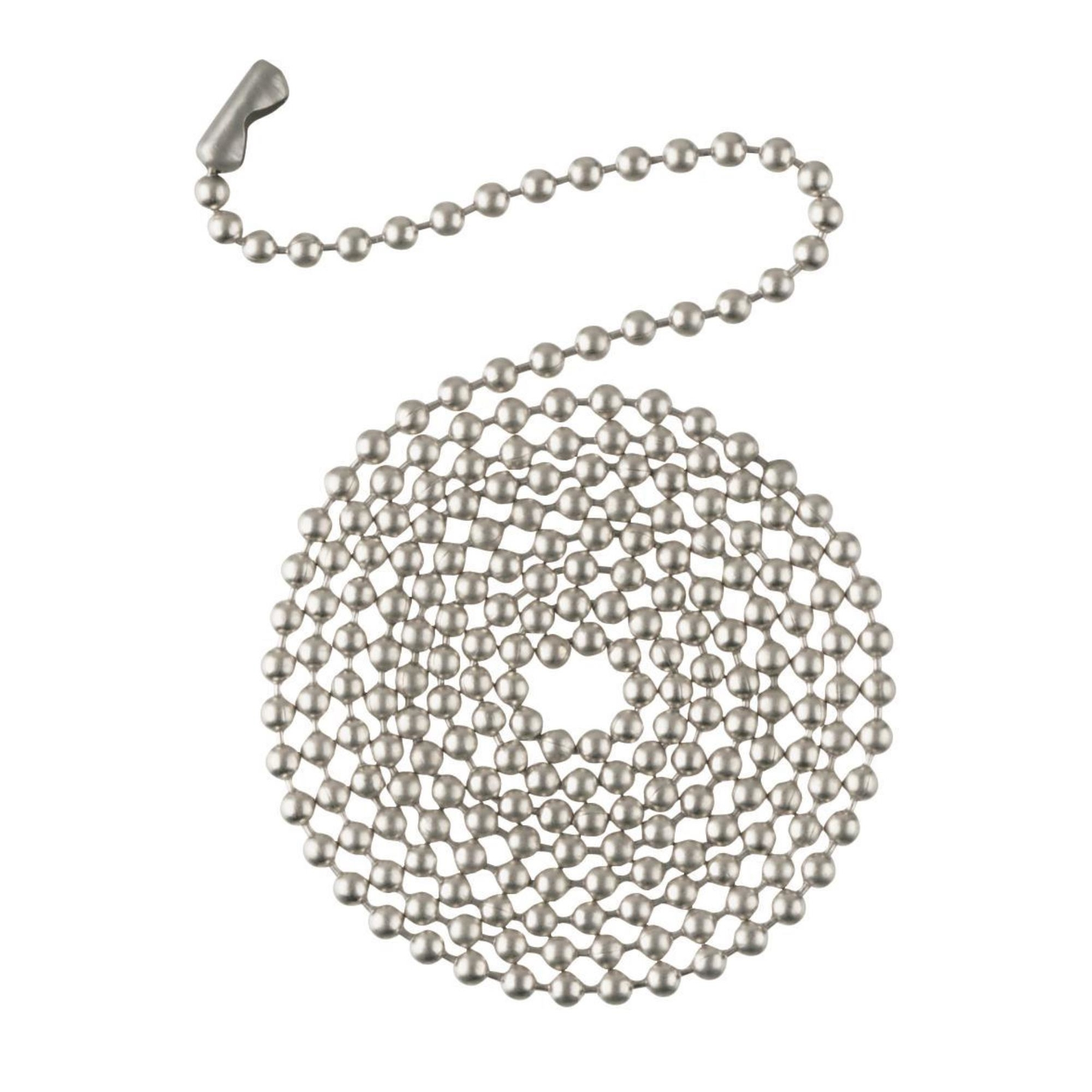 Westinghouse  Beaded Chain  Brushed Nickel  Nickel