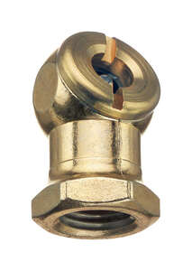 Tru-Flate  Brass  Air Line Chuck  1/4  NPT  Female  NPT   1/4 in. Female  1/4  1 pc.