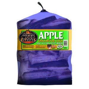 Barbeque Wood Flavors  Apple  Cooking Logs  1 cu. ft.