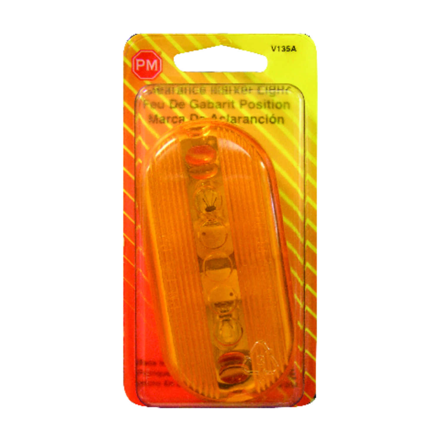 Peterson  Oval  Amber  Clearance Light
