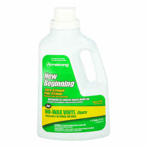 Armstrong  New Beginning  Cleaner and Wax Remover  64 gal. Liquid