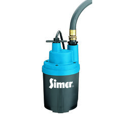 Simer The Smart Geyser 1/4 hp 1800 gph Thermoplastic Electronic Switch Bottom AC Utility Pump