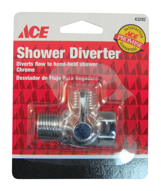 Ace Chrome Shower Diverter - Ace Hardware